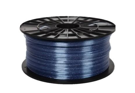 ABS-T filament modrý s flitrami 1,75 1kg 1