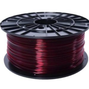 ABS-T filament transparentný červený 1,75 1kg 1
