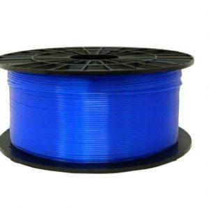 ABS-T filament transparentný modrý 1,75 1kg