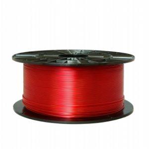 PETG filament transparentný červený 1,75 1kg 1