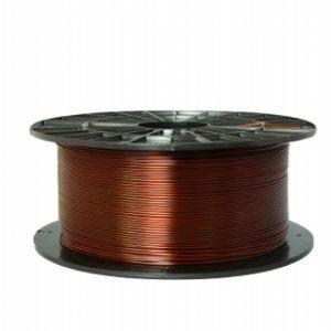 PETG filament transparentný hnedý 1,75 1kg 1