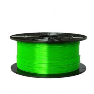 PETG filament transparentný zelený 1,75 1kg