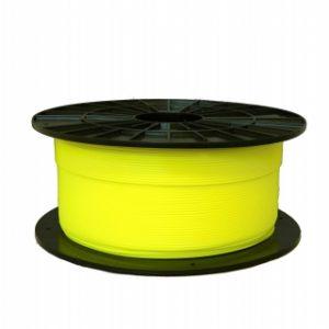 PLA filament fluorescentný žltý 1,75 1kg 1