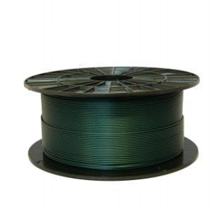 PLA filament metalický zelený 1,75 1kg