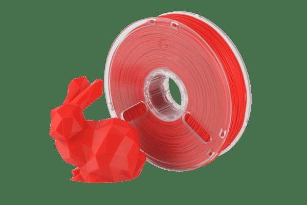PolyMax™ PLA filament extrémne pevný | červený | 1.75 0.75kg