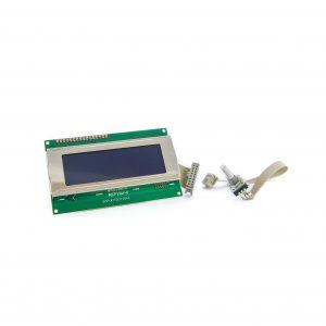 LCD Ovládacia obrazovka