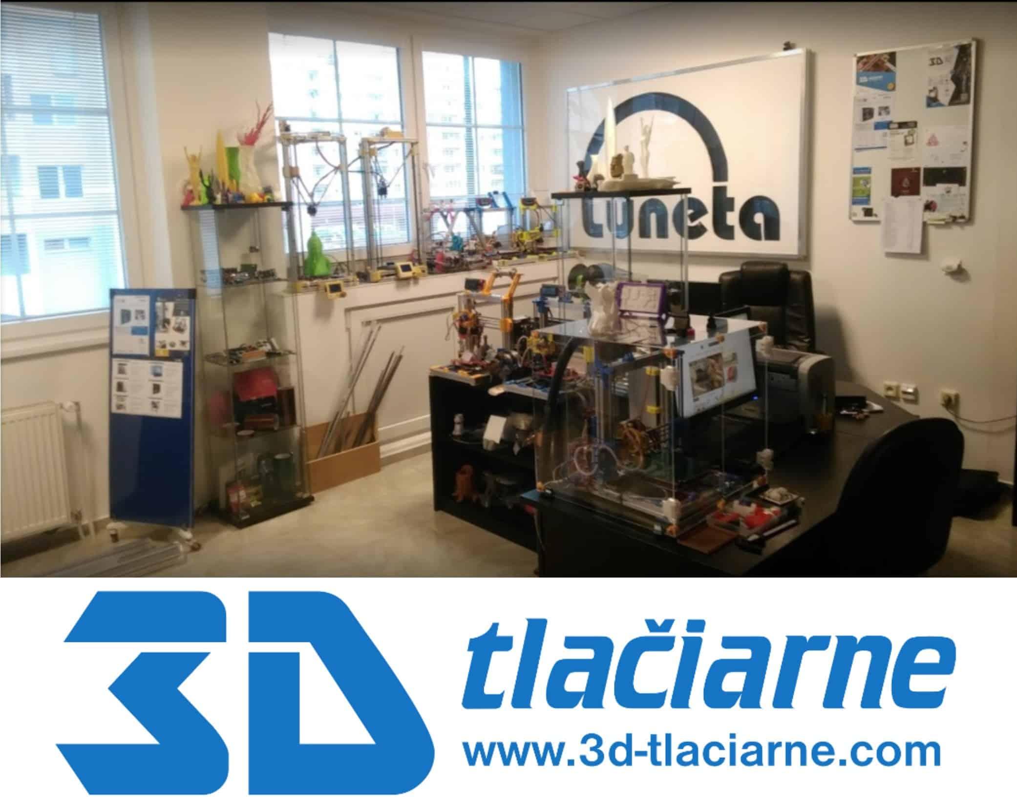 3D-tlaciarne.com Showroom Bratislava