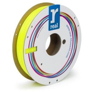Real PETG filament | Transparentný žltý | 1.75 0.5kg