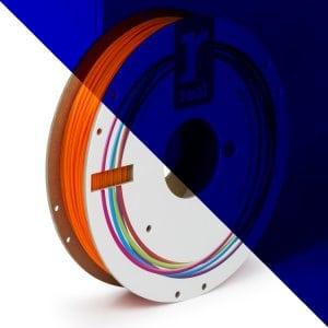 Real PLA filament | Fluorescenčný oranžový | 1.75 0.5kg
