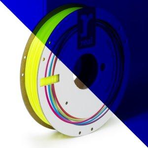 Real PLA filament | Fluorescenčný žltý | 1.75 0.5kg