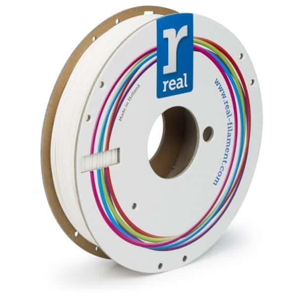 Real Flex - Flexibilný PLA filament | Biely | 1.75 0.5kg