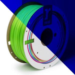 Real PLA filament | Fluorescenčný zelený | 1.75 1kg