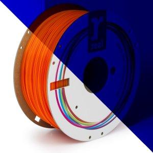 Real PLA filament | Fluorescenčný oranžový | 1.75 1kg