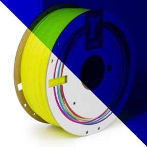 Real PLA filament | Fluorescenčný žltý | 1.75 1kg