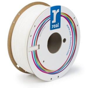 Real PLA filament | Biely | 1.75 1kg