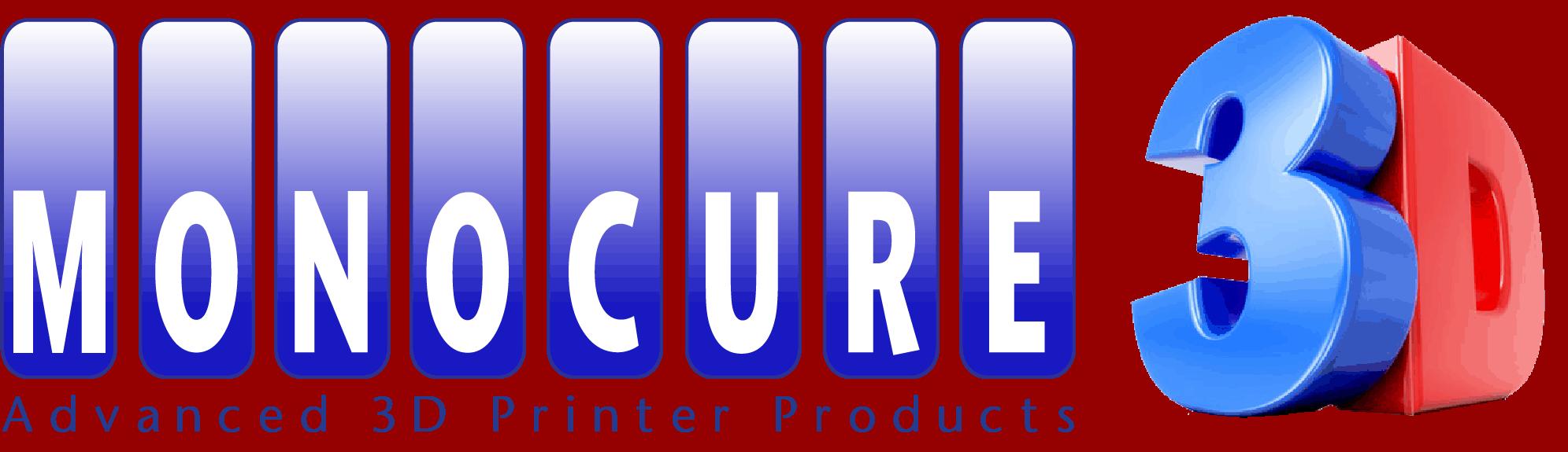 Živice Monocure 3D Logo