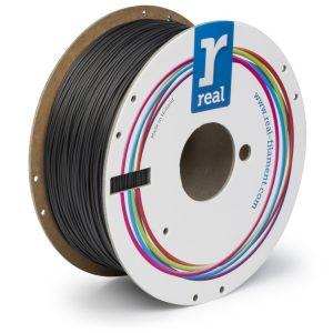 Real Flex PLA filament | Čierny | 1.75 1kg