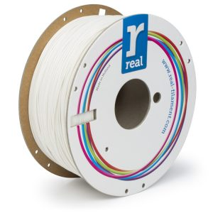 Real Flex PLA filament | Biely | 1.75 1kg