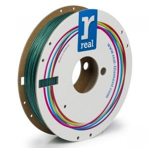 Real PLA filament | Sparkle Emerald Zelený | 1.75 0.5kg