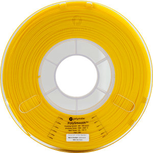 PolySmooth™ leštitelný filament | Žltý | 1.75 0.75kg