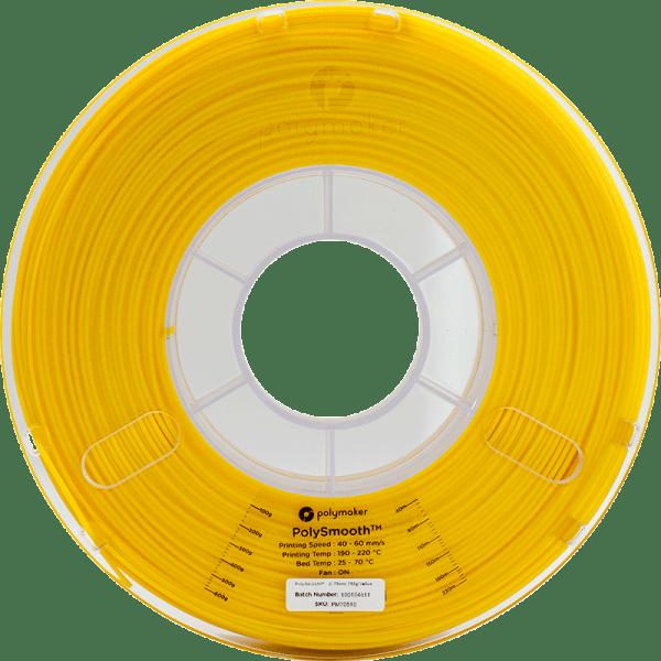 PolySmooth™ leštitelný filament   Žltý   1.75 0.75kg