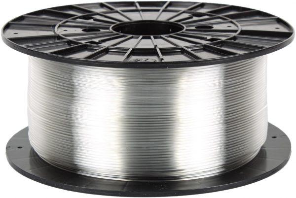 PETG transparentný 3D filament PM - 1kg 1.75