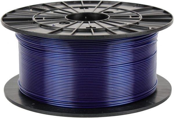 PETG transparentný modrý 3D filament PM - 1kg 1.75