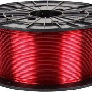 PETG transparentný červený 3D filament PM - 1kg 1.75