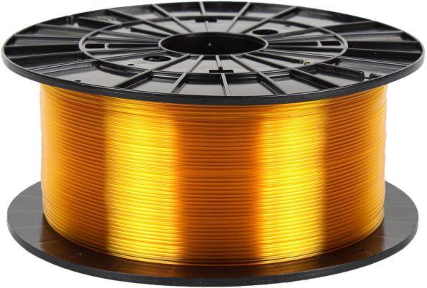PETG transparentný žltý 3D filament PM - 1kg 1.75