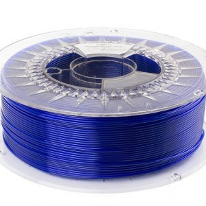 PETG filament | Transparentný modrý | Spectrum filaments 1.75 1kg