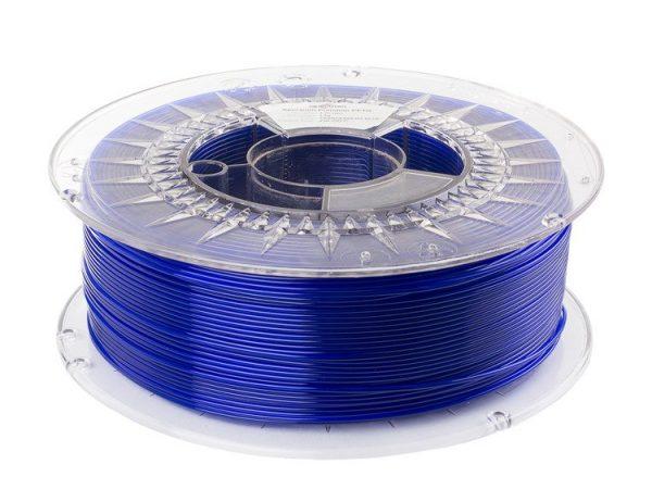 PETG filament   Transparentný modrý   Spectrum filaments 1.75 1kg