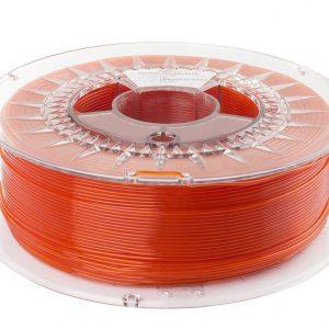 PETG filament | Transparentný oranžový | Spectrum filaments 1.75 1kg