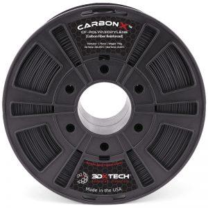 CarbonX™ PP+CF 3DXTech | Čierny | 3DXTech | 1kg 1.75